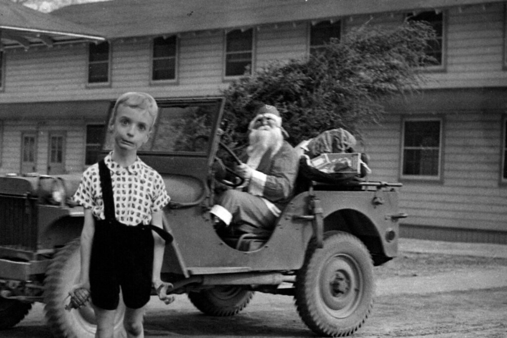 Captain Santa Brought Christmas Grenades For All The Children