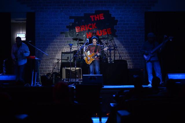 Texas artist's music lifts Brick House