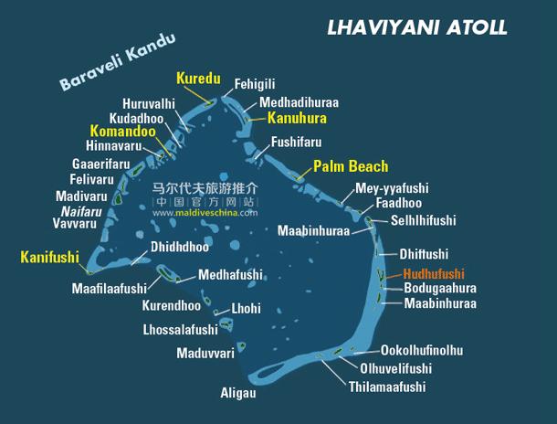 马尔代夫Lhaviyani环礁