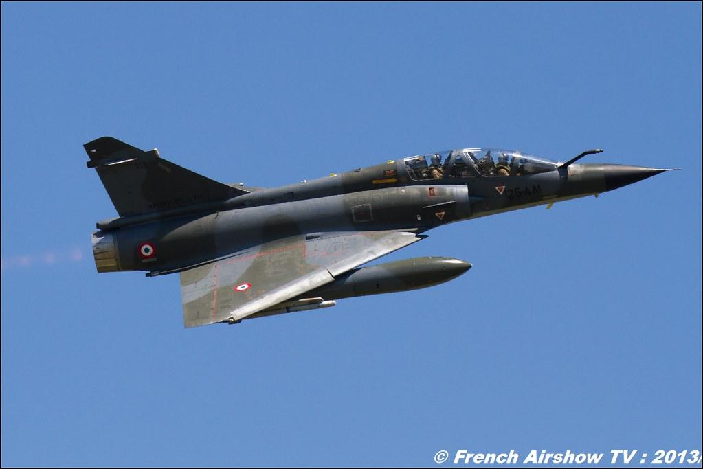Ramex Delta Mirage 2000N ,60 ans Patrouille de France , Meeting Aerien 2013