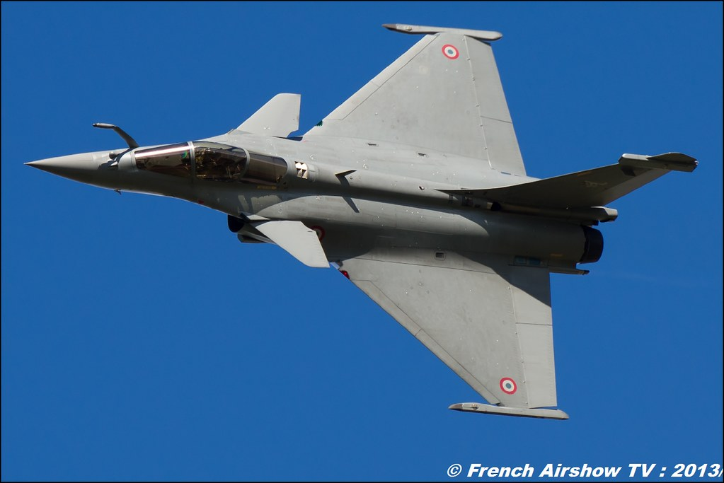 Rafale Solo Display ,60 ans Patrouille de France, Meeting Aerien 2013
