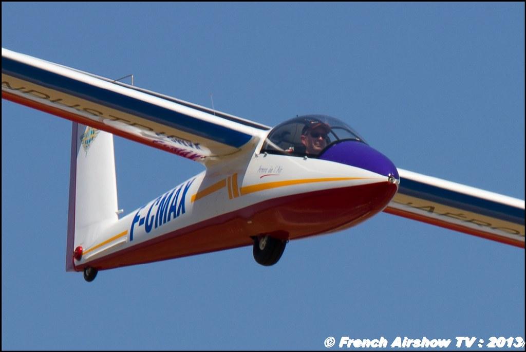 Planeur B4 Pilatus de Denis HARTMANN au Free Flight World Masters Valence 2013 par bleu ciel airshow 2013,