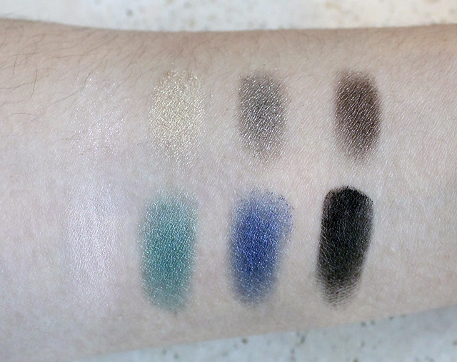 Palette Jardin de Givre review and swatches