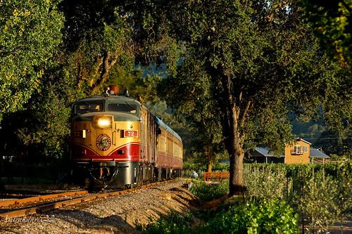 railroad train napavalley passengertrain napavalleywinetrain