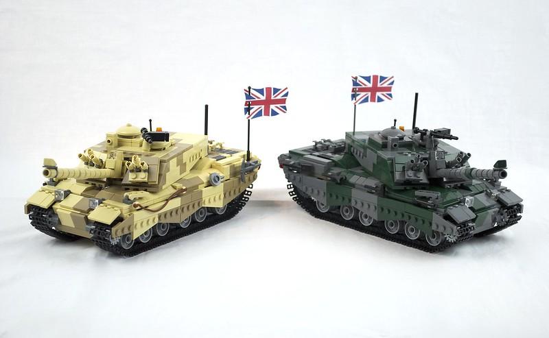 456e9b1d1bfa Challenger II British Main Battle Tank - Special LEGO Themes ...
