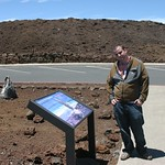 Rocco learning, crater, Maui