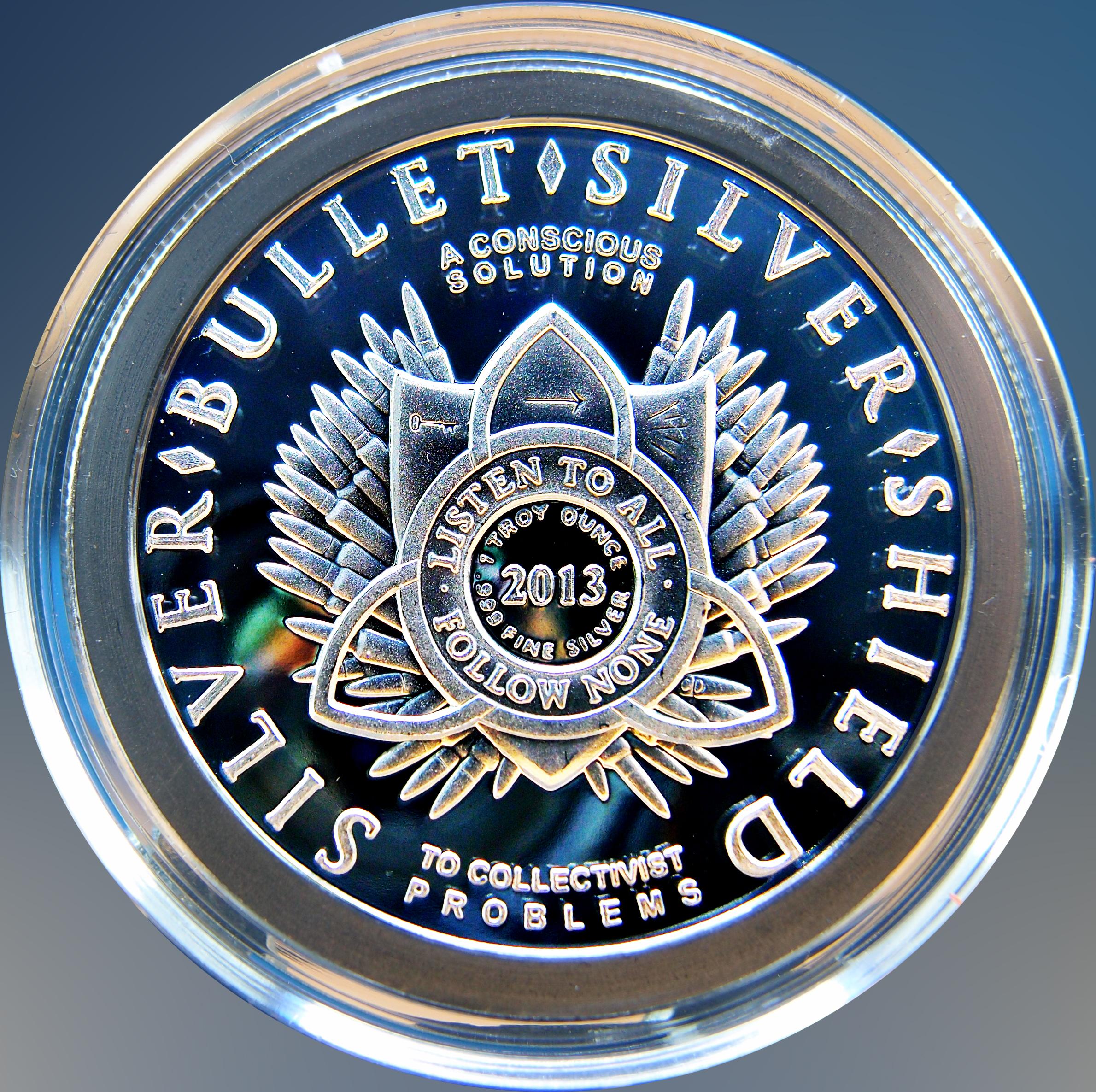 """Colección de onzas de plata """" Silver Bullets & Silver Shield"""" 11802021475_c4a0d05ae5_o"""
