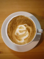 Today's latte, modern.IE