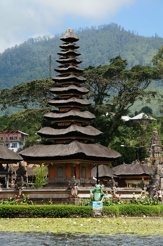 Iconic water temple in Bedugul - Pura Ulun Danu Bratan