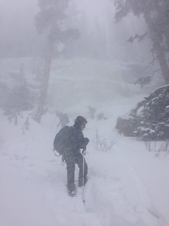 Deteriorating Weather in Glacier Gorge