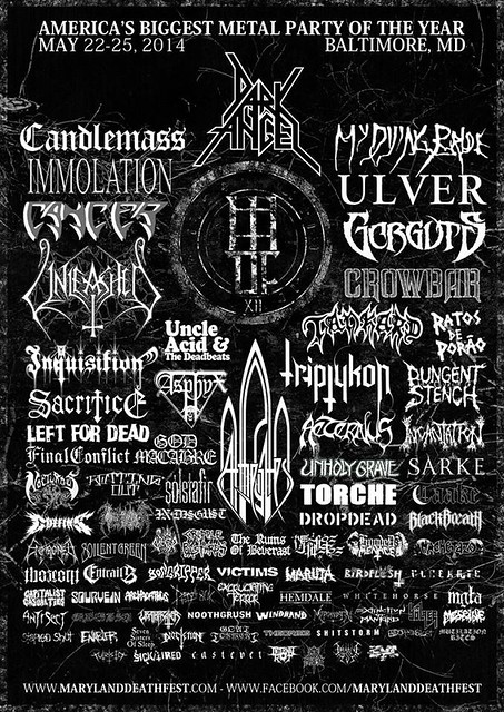 Maryland Deathfest XII