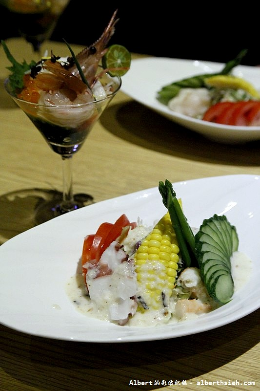 台北大同.若獅子和食:鮮干貝札幌沙拉