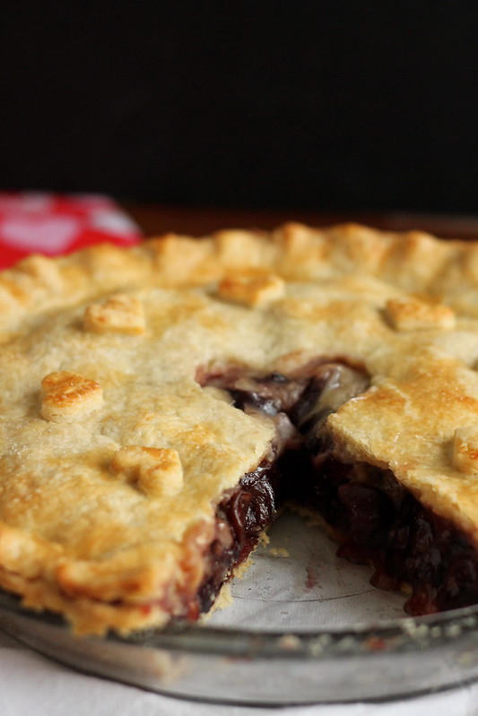 Who took a piece of my Sweet Cherry Pie? #ValentinesDay