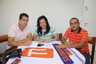 Adelaide Pereira de Souza, de São Bernardo, visita o Solidariedade Estadual-SP
