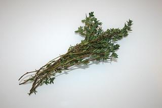 04 - Zutat frischer Thymian / Ingredient fresh thyme