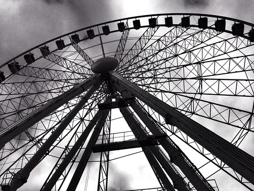 Manchester Piccadilly Gardens Wheel