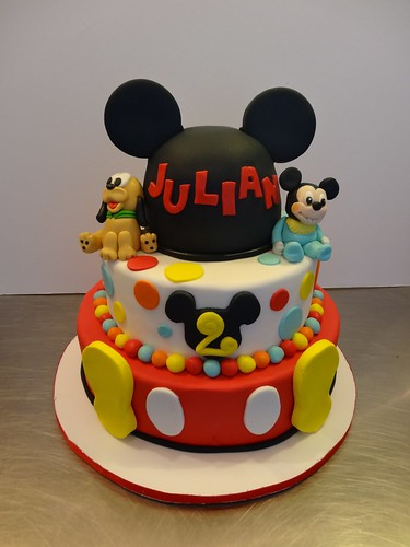 Disney Mickey Mouse Cake by CAKE Amsterdam - Cakes by ZOBOT