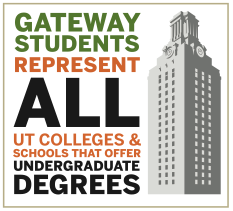Gateway students represent all schools at UT