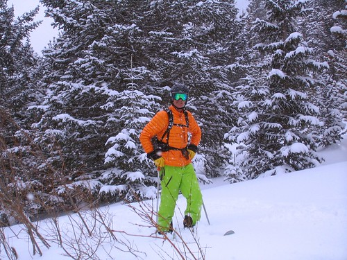Rob Skiing Mount Saint Vrain
