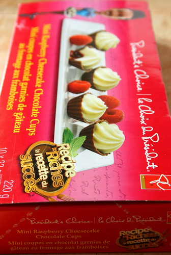 Recipe to Riches Dessert Winner: PC Mini Raspberry Cheesecake Chocolate Cups