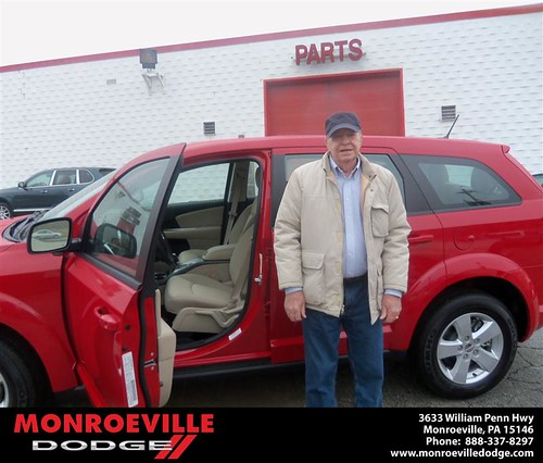 #HappyAnniversary to Preston Jack Brewer on your 2013 #Dodge #Journey from Ronald Mcclelland  and everyone at Monroeville Dodge! by Monroeville Dodge