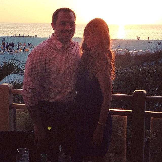 Sunset dinner, grown-ups only  #cbspringbreak #carettas #fancypants #sunset #springbreak  #love