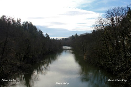 River Tamar, Gunnislake Bridge, Tamar Valley by www.stockerimages.blogspot.co.uk