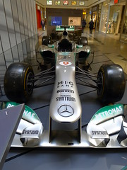 Front: Mercedes F1 W04