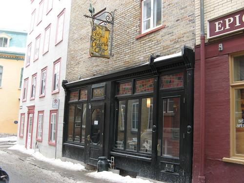 Café in Vieux Québec