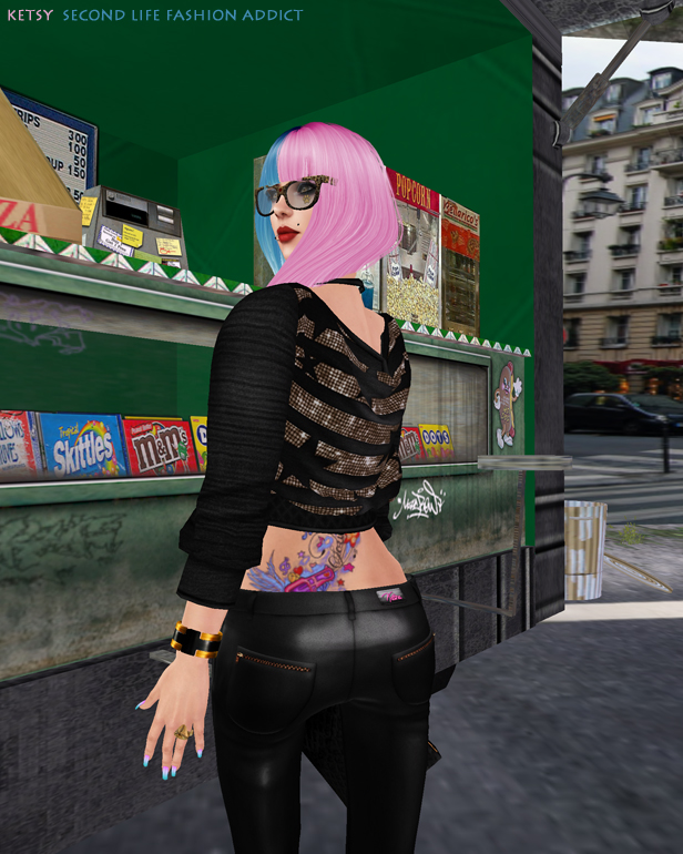 Girl At The Rock Show - NEW Blog Post @ Second Life Fashion Addict