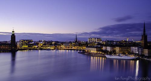 longexposure newyork night cityscape sweden stockholm