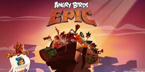 Angry Bird Epic - Fighting Red Walkthrough
