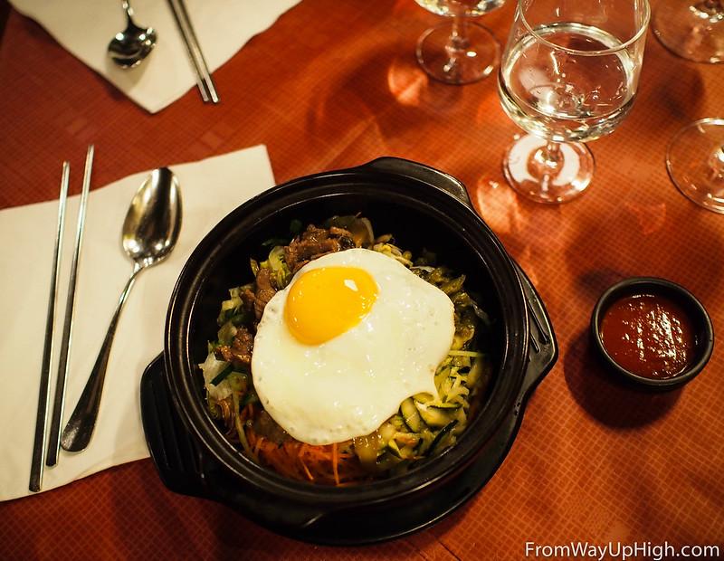 Korea House Helsinki bibimbap
