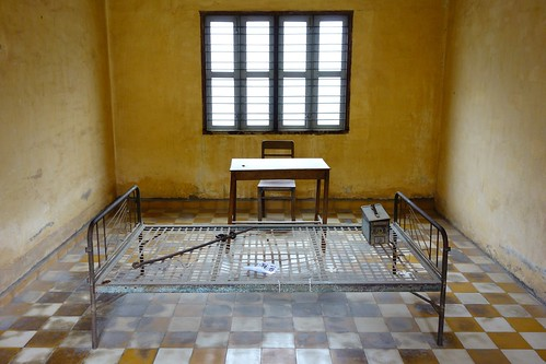 Torture room at Tuol Sleng
