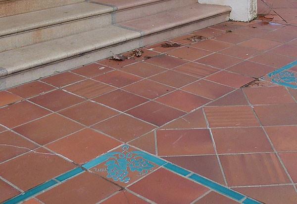 mosaïque au sol