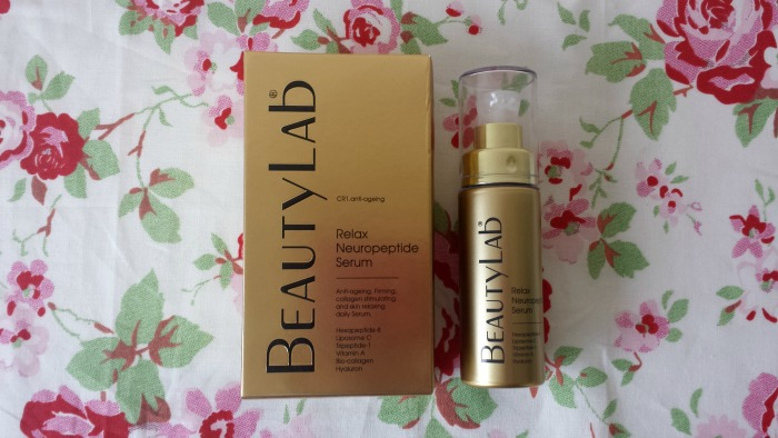 Beauty Lab Relax Neuropeptide Serum Review