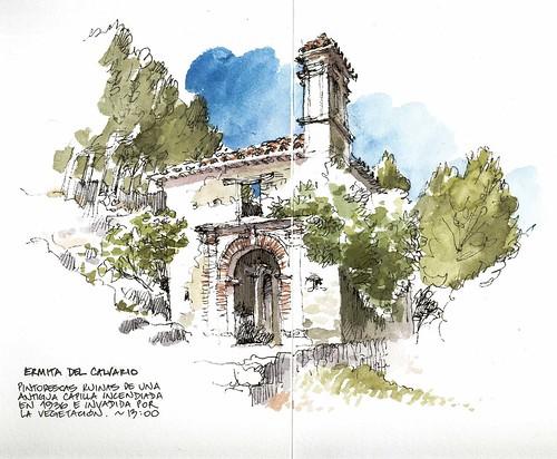 Grazalema, ermita del Calvario