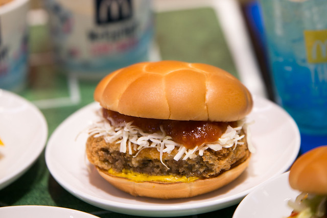 FIFA World Cup 公式ハンバーガー McDonald