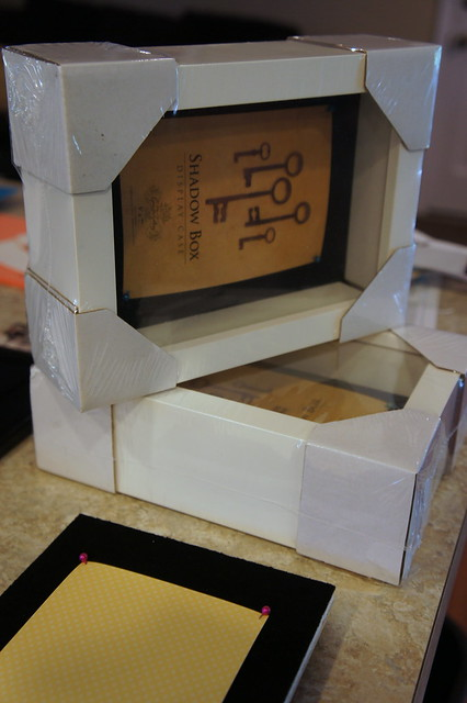 Last Minute Teacher Gifts - Shadow Boxes