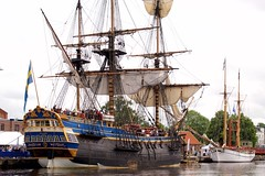 sailing ship, vehicle, east indiaman, ship, mast, tall ship, watercraft, flagship, boat, galleon,