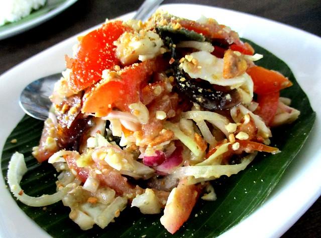 Payung century egg salad