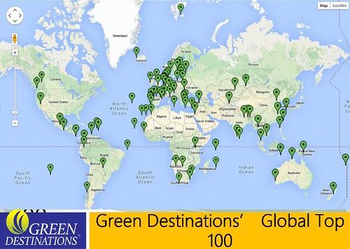 全球綠色景點。圖片提供:Magdalena AK Muir。