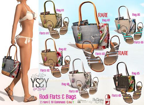 Rodi Flats & Bags @ OhMyGacha