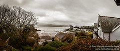 Panorama Over Borth Y Gest From Our Cottage