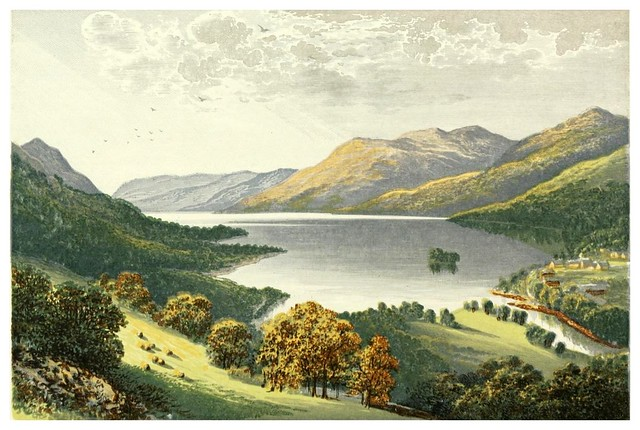 010- Lago Earn-Scottish loch scenery-1882-A.F. Lydon