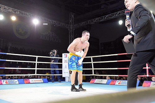 WSB Season VII Week 7 - Astana Arlans Kazakhstan vs Patriot Boxing Team match