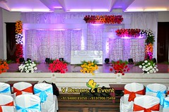 Engagement Decorations in Hotel Atithi Pondicherry