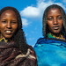 Borana tribe women portrait during the Gada system ceremony, Oromia, Yabelo, Ethiopia by Eric Lafforgue