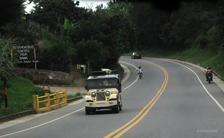 Jeep via Popayan - Timbio