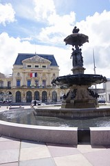 Fountain Mouchel and the Theatre